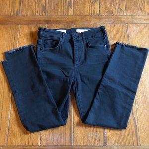 Pilcro and the Letterpress Black Jeans